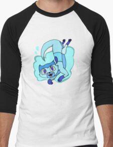 Lapis Lazuli otter Men's Baseball ¾ T-Shirt