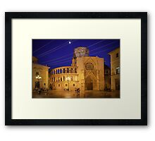 Valencia Cathedral Framed Print
