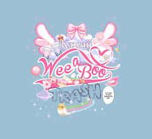 Kawaii Weeaboo Trash Womens Fitted T-Shirt