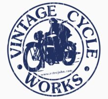 Vintage Cycle Works by retrojohn