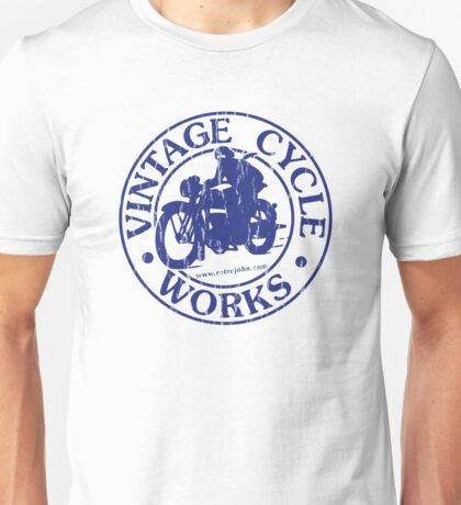 Vintage Cycle Works Unisex T-Shirt