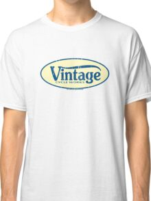 Vintage Cycle Works - oval badge Classic T-Shirt