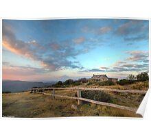 Craig's Hut, Mt Stirling. Poster