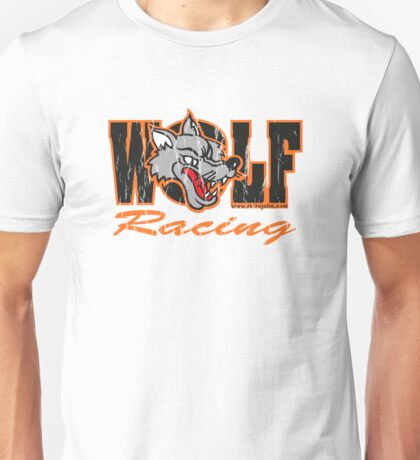 Wolf Racing Motorcycles Unisex T-Shirt