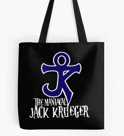 The Maniacal Jack Krueger Logo Tote Bag
