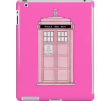 Pink TARDIS. iPad Case/Skin