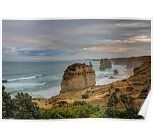 The Twelve Apostles. Victoria, Australia Poster