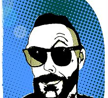 Justin Furstenfeld Pop Comic Stlye #2 by Jason westwood