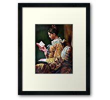 The Reader after Fragonard Framed Print