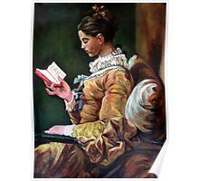 The Reader after Fragonard Poster