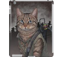 Daryl Dixon Cat iPad Case/Skin
