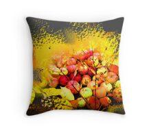 Autumn Colors Pillow Throw Pillow
