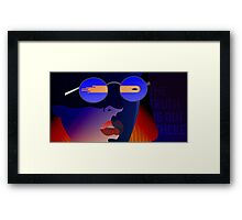 Dana Scully from X-Files Framed Print