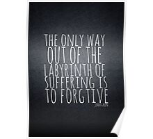 John Green Typography Quote Labyrinth Poster