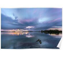 Southern Moreton Bay Sunrise Poster