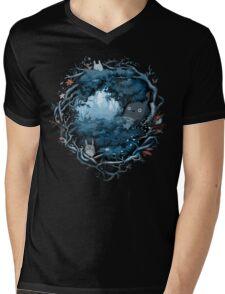 Forest Spirits Mens V-Neck T-Shirt
