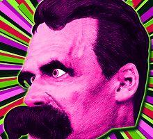 Nietzsche Burst 7 - by Rev. Shakes by Rev. Shakes Spear