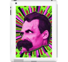 Nietzsche Burst 7 - by Rev. Shakes iPad Case/Skin