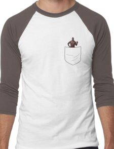 Pocket Terry  Men's Baseball ¾ T-Shirt
