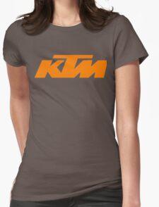 ktm logo Womens Fitted T-Shirt