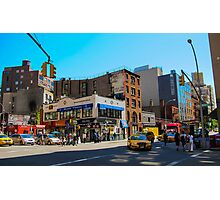 New York Intersection Photographic Print