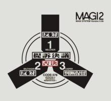 Evangelion magi symbol by flateric