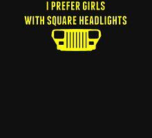 Square Headlights Unisex T-Shirt