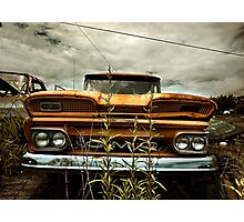 Abandoned 1960 GMC Carryall Photographic Print