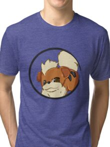 PokeMon - Growlithe Tri-blend T-Shirt