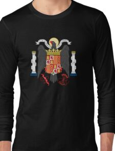Coat of Arms of Spain (1938-1945) Long Sleeve T-Shirt
