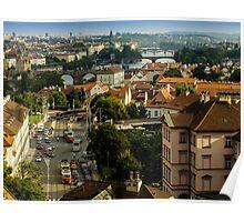 Prague an Unforgettable City. Poster
