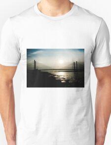 Bridge in Silhouette Unisex T-Shirt