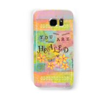 You Are Healed--Affirmations From Abba Samsung Galaxy Case/Skin