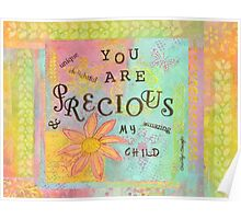 You Are Precious--Affirmations From Abba Poster