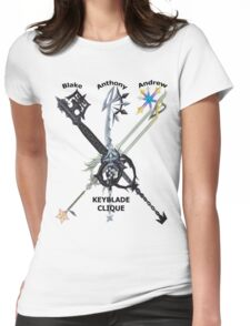 Keyblade Clique v2 Womens Fitted T-Shirt