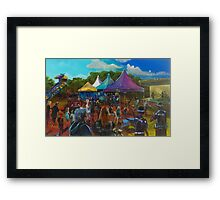 2016 1770 festival of Captain Cook Framed Print