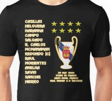 Real Madrid 2000 Champions League Winners Unisex T-Shirt