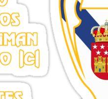 Real Madrid 2000 Champions League Winners Sticker