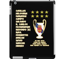 Real Madrid 2000 Champions League Winners iPad Case/Skin