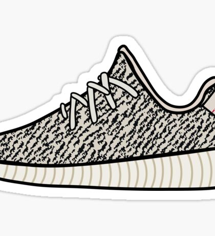 Yeezy Boost 350 Turtle Dove Sticker