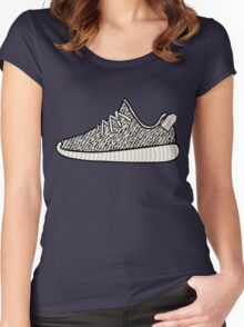 Yeezy Boost 350 Turtle Dove Women's Fitted Scoop T-Shirt