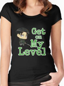 Levi - Get On My Level Women's Fitted Scoop T-Shirt