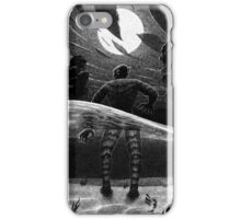 Drawlloween 2014: Creature from the Black Lagoon iPhone Case/Skin