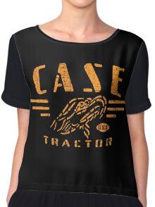 Vintage Case Tractor Chiffon Top
