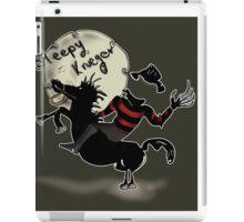 sleepy Krueger iPad Case/Skin