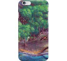 Alligator Island iPhone Case/Skin
