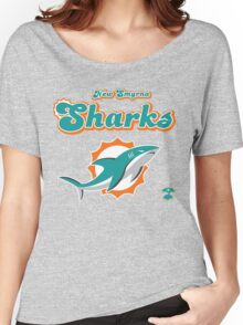 New Smyrna Sharks - Cloud Nine Edition Women's Relaxed Fit T-Shirt