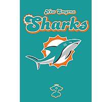 New Smyrna Sharks - Cloud Nine Edition Photographic Print