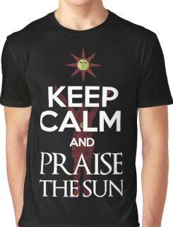 Keep Calm and Praise The SUn Graphic T-Shirt
