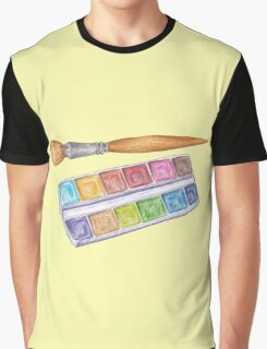 palette with brush Graphic T-Shirt